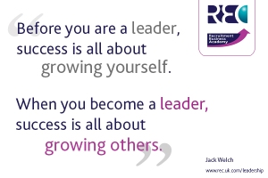 RBA - leadership quote Jack Welch