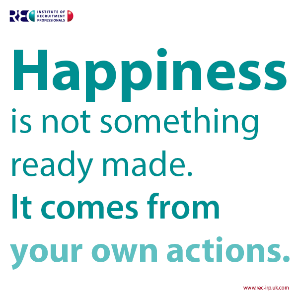 Quote For Today About Happiness Inspiration Top 5 Happy Quotes To Make You Happy  I Love Recruitment