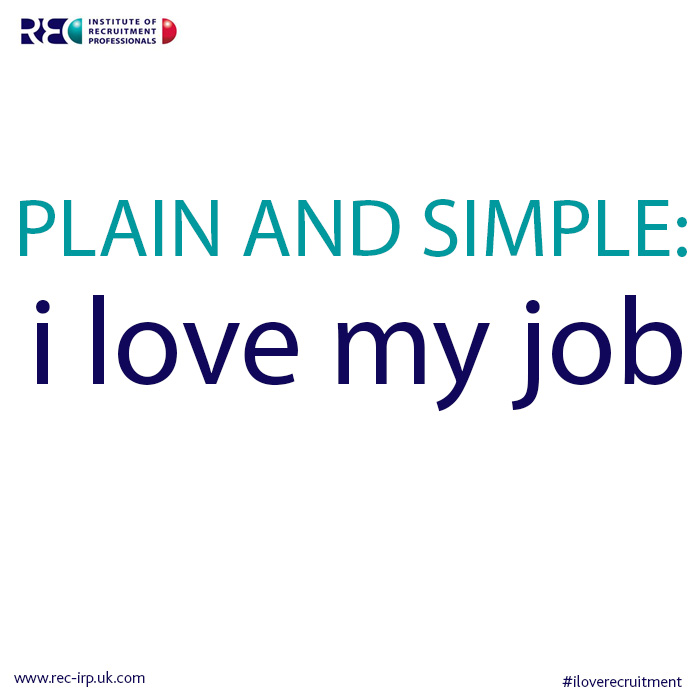 irp quote plain and simple i - I Love My Job Do You Really Like Your Job