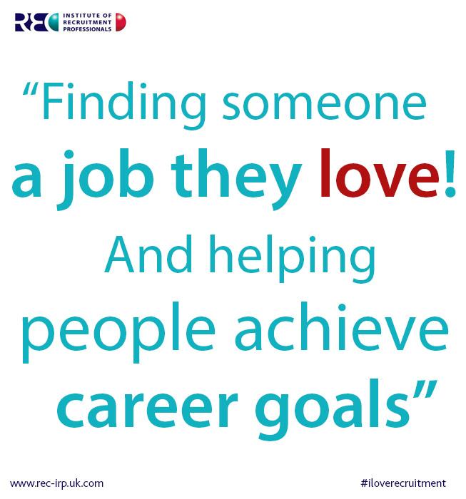 recruitment achieve career goals