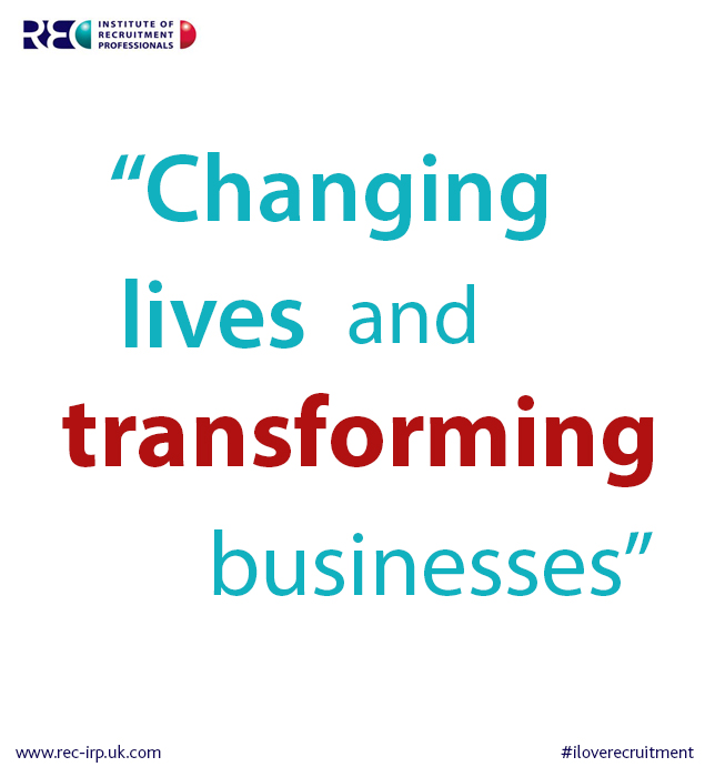 recruitment changing lives transforming business