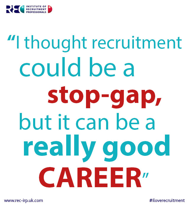 Recruitment can be a really good career image