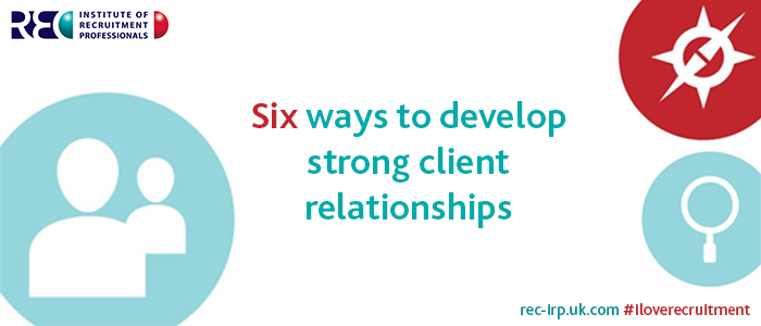 Six ways to develop client relationships photo