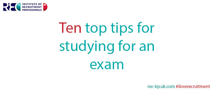 Ten top tips for studying for an exam image