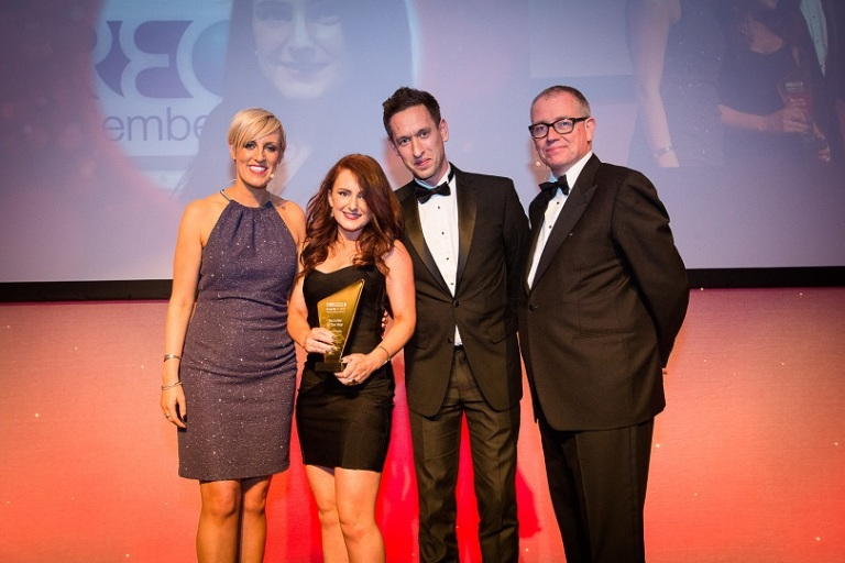 IRP Awards 2015 - Recruiter of the Year Claire D'Amelio (Energize Recruitment)