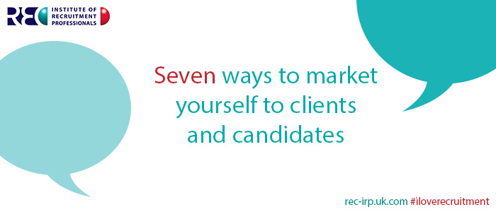 Seven ways to market yourself