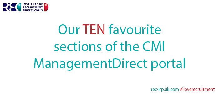Ten best sections of the CMI portal