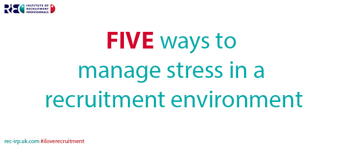 Managing stress - Five ways