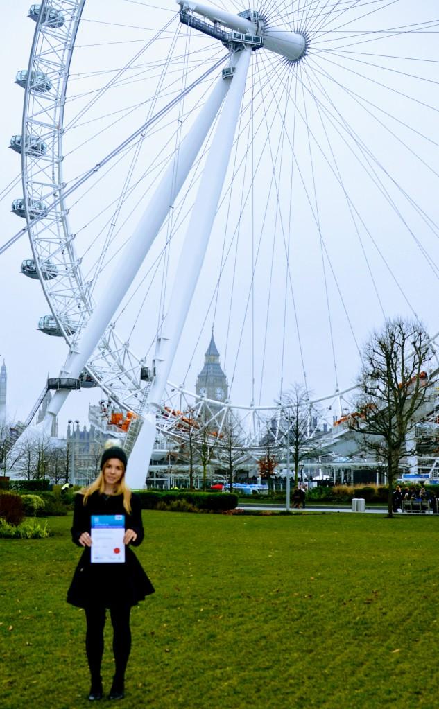 Certfie London eye