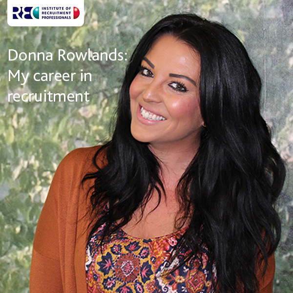 Donna Rowlands career in recruitment