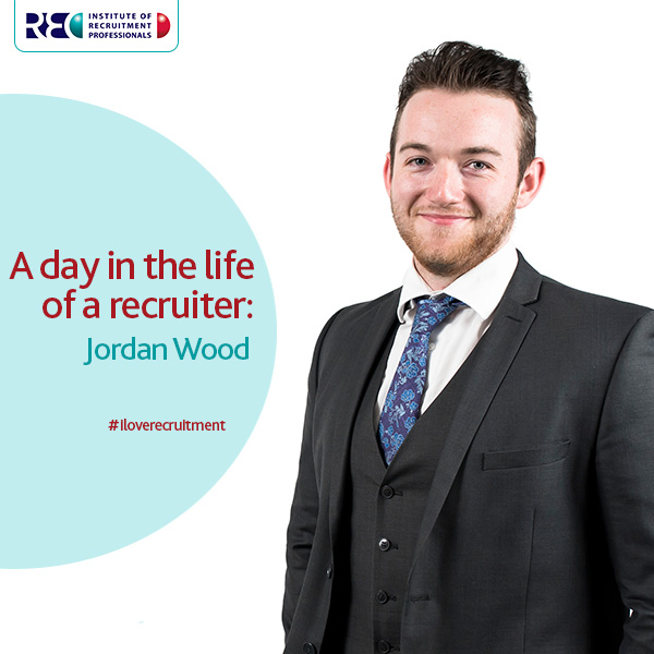 Jordan Wood a day in the life of a recruiter