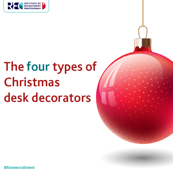 Christmas desk decorators